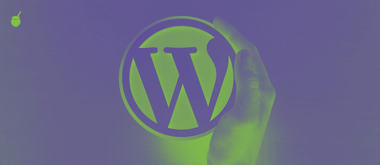 WordPress - Imagem de capa