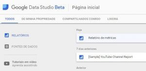 Google Data Studio Beta