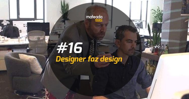 Designer faz design