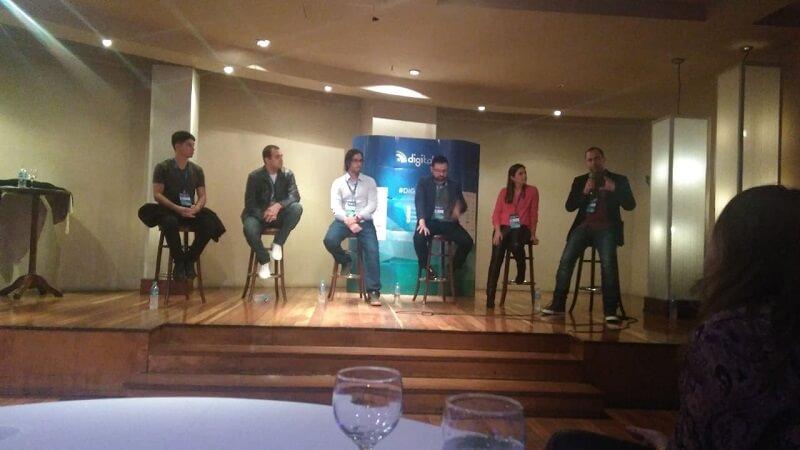 Foto com os convidados do Meeting Digitalks Porto Alegre 2018