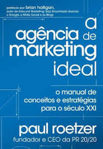 Capa do livro A Agência de Marketing Ideal.