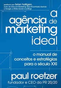 Capa do livro A Agência de Marketing Ideal.