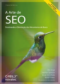Capa do livro A Arte do SEO.