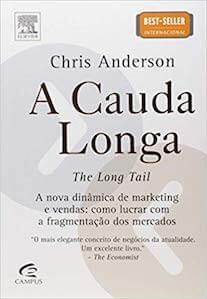 Capa do livro A Cauda Longa.