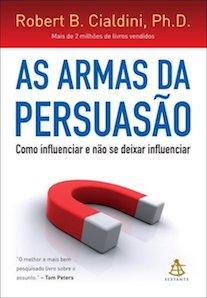 Capa do livro As Armas da Persuasão.