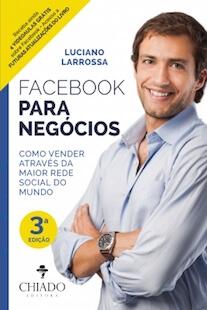 Capa do livro Facebook Para Negócios.