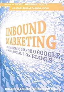 Capa do livro Inbound Markering Seja Encontrado Usando.