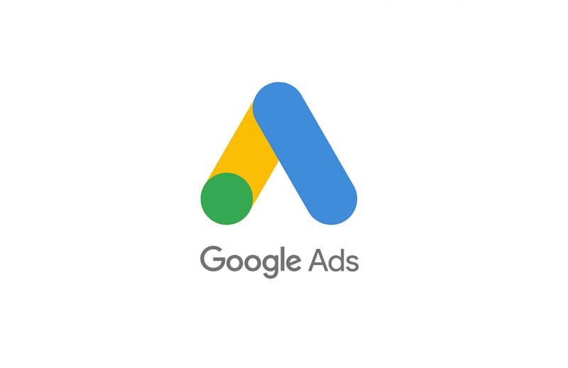 Logotipo do Google Ads.