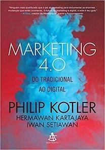 Capa do livro Marketing 4.0,