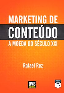 Capa do livro Marketing de Conteúdo a Moeda do Século XXI.