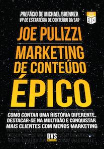 Capa do livro Marketing de Conteúdo Épico.