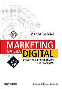 Capa do livro Marketing na Era Digital.