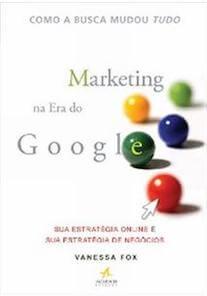 Capa do livro Marketing na Era do Google.