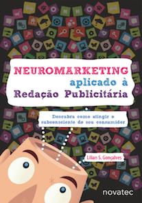 Capa do livro Neuromarketing Aplicado a Redação Publicitária.