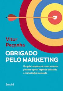 Capa do livro Obrigado pelo Marketing.