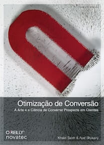 Capa do livro Otimização de Conversão.