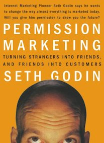 Capa do livro Permission Marketing.