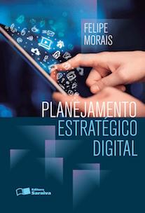 Capa do livro Planejamento Estratégico Digital.