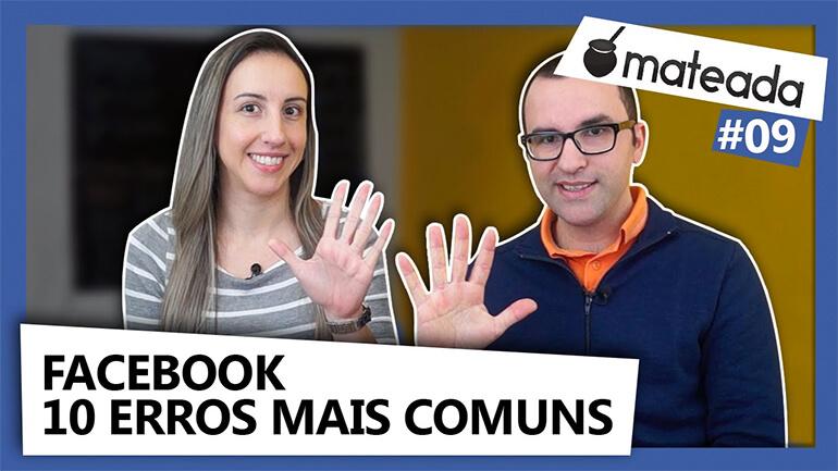Facebook 10 erros - Thumbnail