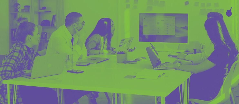 Trabalhar com marketing - Imagem de capa