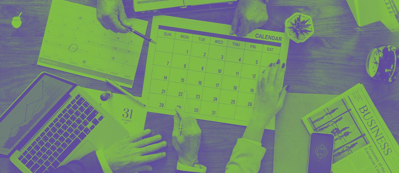 Calendário de Marketing - Imagem de Capa